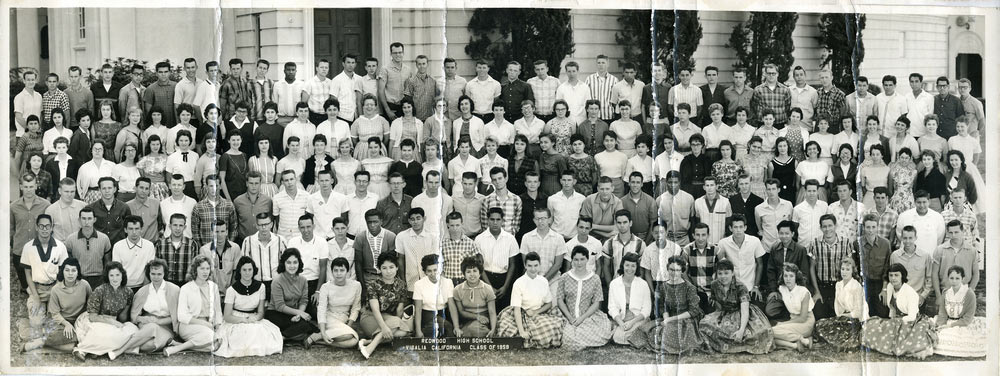 Redwood high school class of 1959 before
