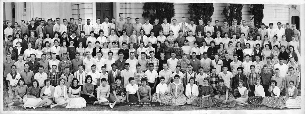 Redwood High school class of 1959 restored