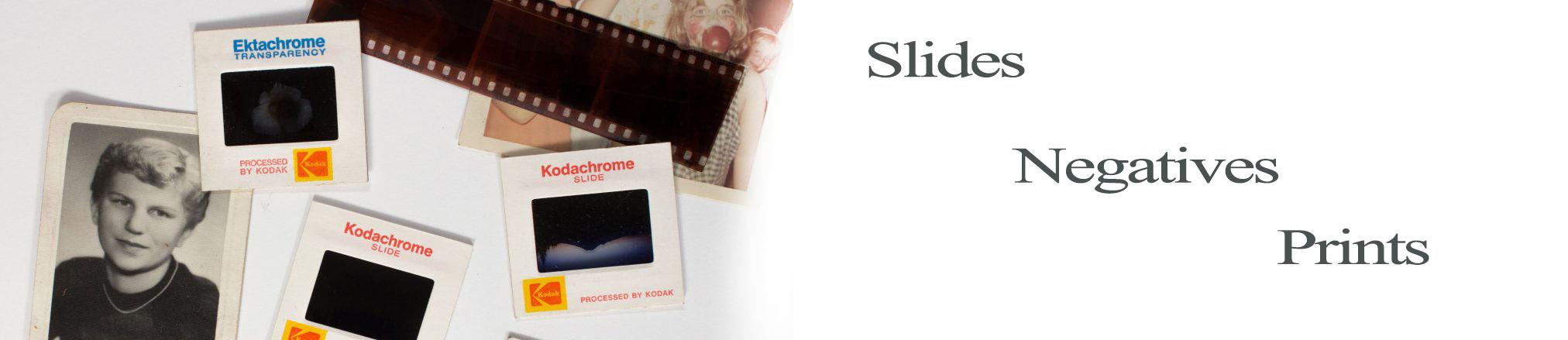 slides negatives and prints