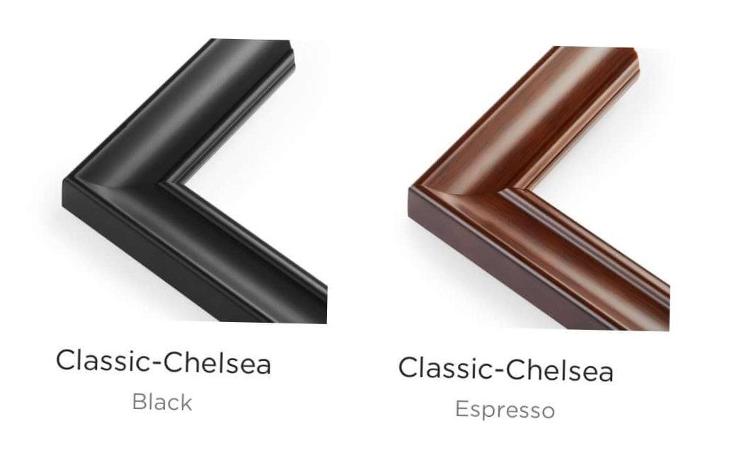 classic Chelsie frames