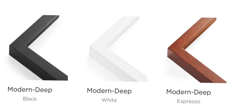 Modern style frames
